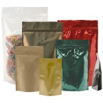 Foil Bags - Stand Up Foil Pouches 1oz No Zip + Valve