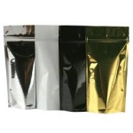 Mylar Bags - Stand Up Metallized Mylar Pouch 24oz + Zip