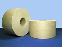 "Gummed Tape - Brown Reinforced Gummed Tape 3"" x 375 ft, 8 rolls per case"