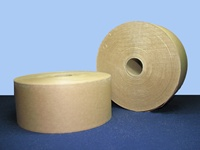 "Gummed Tape - Brown Kraft Tape 3"" x 600 ft, 10 rolls non-reinforced"