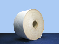 "Gummed Tape - White Reinforced Gummed Tape 3"" x 375 ft, 8 rolls per case"