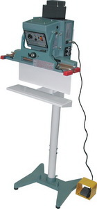 "Foot Sealer - 18"" Automatic Double Impulse Vertical Foot Sealer, 10mm seal"