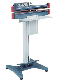 "Foot Sealer - 18"" Seal and Cut Double Impulse Foot Sealer, 2mm Seal"