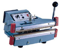 "Impulse Sealer - 12"" Double Impulse Hand Sealer, 5mm"