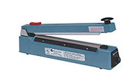 "Impulse Sealer - 20"" Impulse Hand Sealer with Cutter, 2mm Seal"