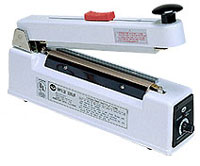 "Impulse Sealer - 8"" Medical Impulse Sealer with Cutter, 10mm Seal"