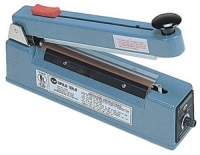"Impulse Sealer - 8"" Impulse Hand Sealer with Cutter, 2mm Seal"