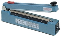 "Impulse Sealer - 12"" Impulse Hand Sealer with Cutter, 2mm Seal"
