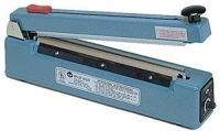 "Impulse Sealer - 12"" Impulse Hand Sealer with Cutter, 5mm Seal"
