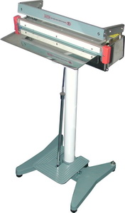 "Foot Sealer - 24"" Stainless Foot Sealer, 2mm Seal"