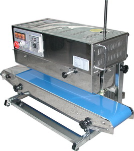 Band Sealer - Stainless Vertical Band Sealer (Left to Right)
