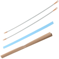 "Repair Kits - 12"" Foot Impulse Sealer Repair Kit with Ptfe and Wire - 2mm Seal"