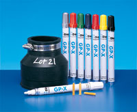 Industrial Markers - GPX Marker, Classic, Green - Diagraph Valve Marker