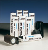 Stencil Ink Roller - Oneshot Ink Kit, Black, 3""