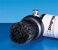 Stencil Ink Roller - Oneshot Brush Assembly