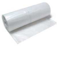 Clear Poly Tarp - 28ft x 100ft, 6 mil. Clear Tarp