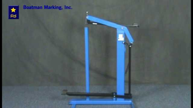Foot Stapler - Josef Kihlberg B561 Stapler - Video