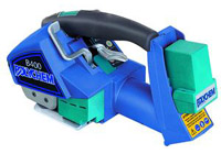 Battery Operated Strapping Tools - Polychem B400 Battery Operated Strapping Tool - 450lb Strength