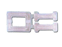 Strapping Supplies - Plastic Buckles for Plastic Strapping - 1/2""