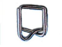 Strapping Supplies - Wire Buckles for Plastic Strapping -5/8""
