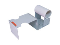 "Tape Dispensers - 4"" Metal Label Protection Tape Dispenser"