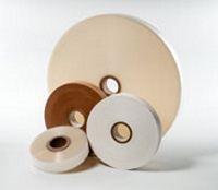 Strapping Machines - White Stock Banding Paper Tape 30mm x 3280ft., 40 coils per case