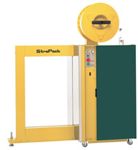"Strapping Machines - Strapack RQ-8Y Strapping Machine, SideSeal  49"" H x 20"" W"