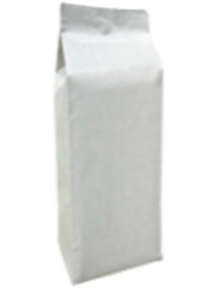 Foil Bags - Quad Seal Gusseted Nylon Bags White 40lb. No Zip